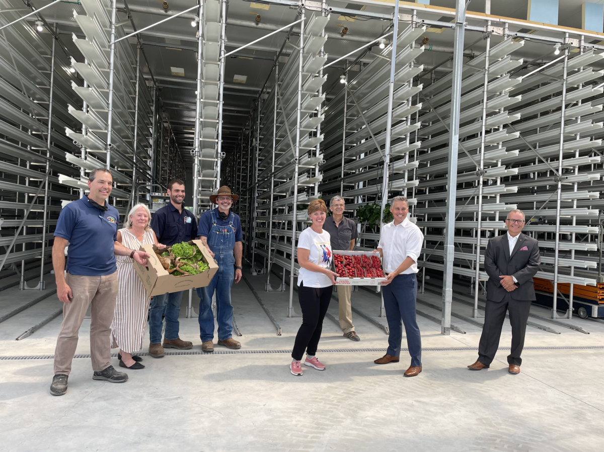 La ministre fédérale de l'Agriculture et de l'Agroalimentaire et le député de Vaudreuil-Soulanges visitent Ferme d'Hiver!